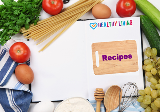 Healthy Living recipe page